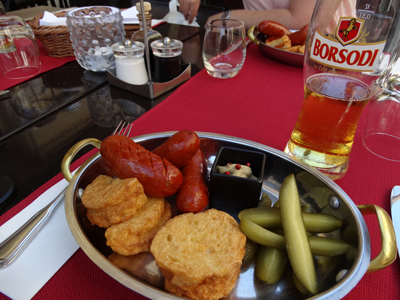 Hungarian lunch