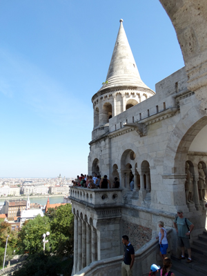 Fisherman's Bastion - Castle Hill