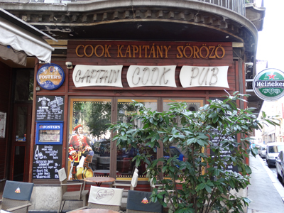 Captain Cook Pub - Budapest