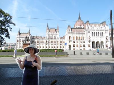 Bogota and the Parliament Building