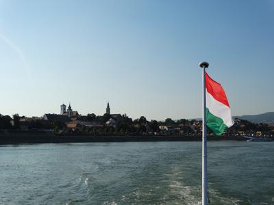 Szentendre from the Danube