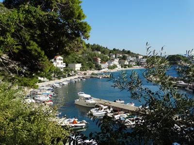 Town on the Makarska Riviera