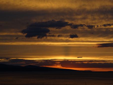 Baska Voda sunset