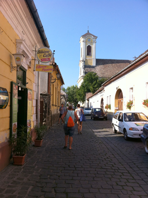 Szentendre streets