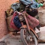 The trusty metal steed of modern Marrakech