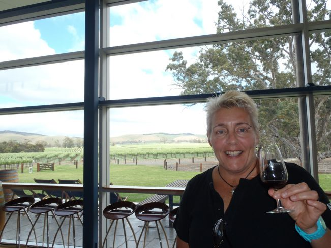 Jacob's Creek Winery - Lunch with a view forever