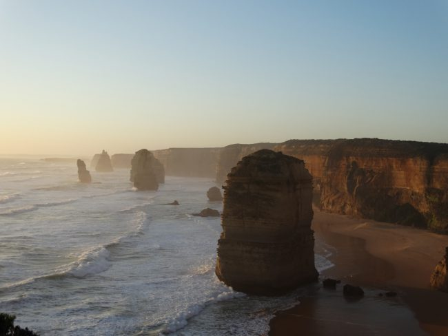 The Twelve Apostles at sunset - Great Ocean Road, Victoria