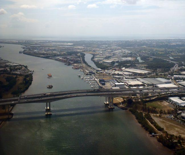Heading home - Brisbane's Gateway Bridges