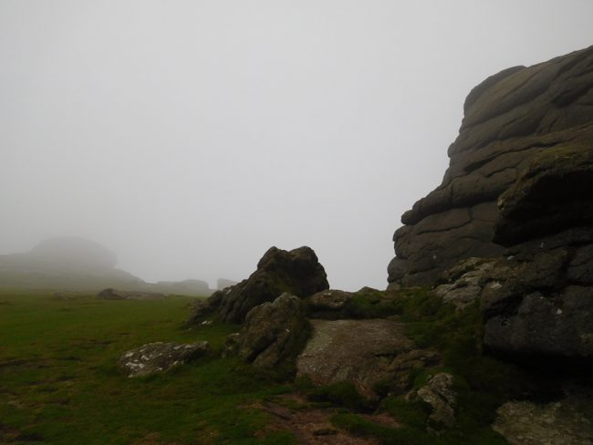Hay Tor in the moody Dartmoor NP