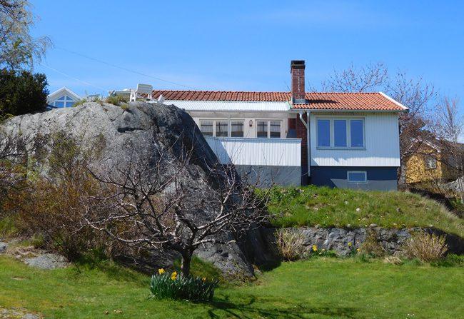 Branno Island architecture - talk about a solid foundation!