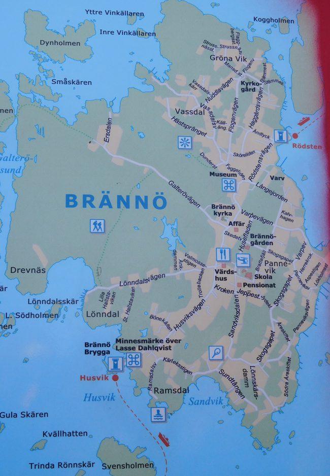 Branno Island in the southern archipelago.