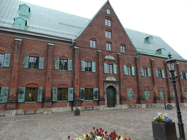 Kronhuset - Old City Hall. Oldest building in Gothenburg, dating from 1654.