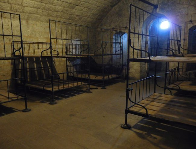 Fort Douamount's cosy bedrooms