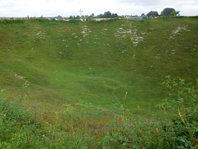 Lochnager Crater