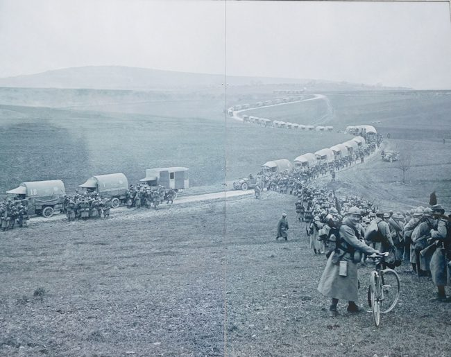 Sacred Road during the war