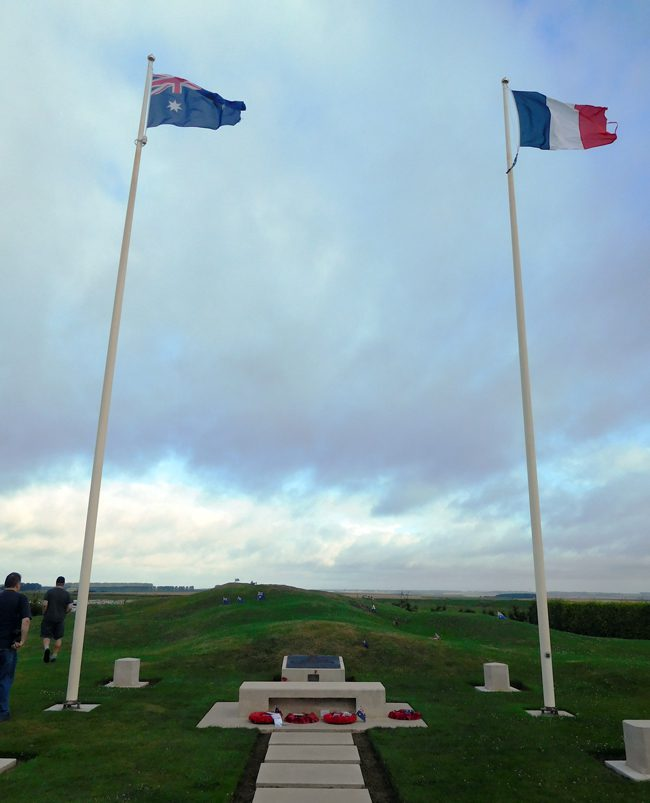Pozieres Windmill Site