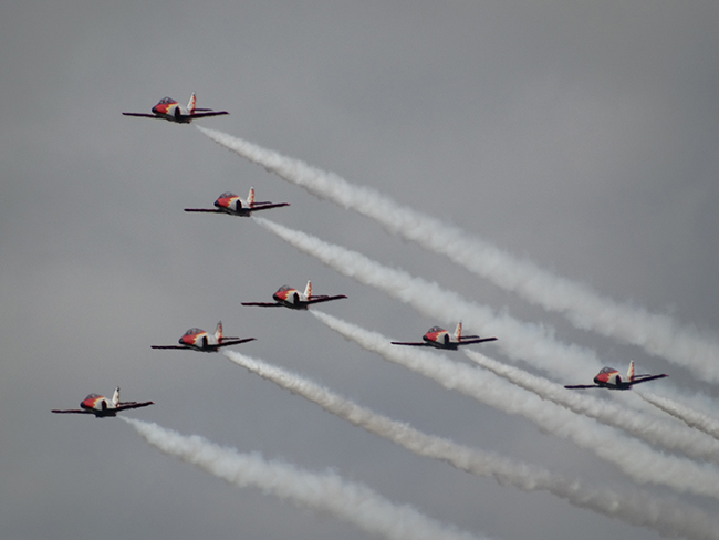 Spanish Air Force Patrulla Aguila