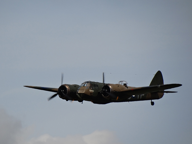 Bristol Blenheim: Battle of Britain 75th Anniversary Massed Flypast