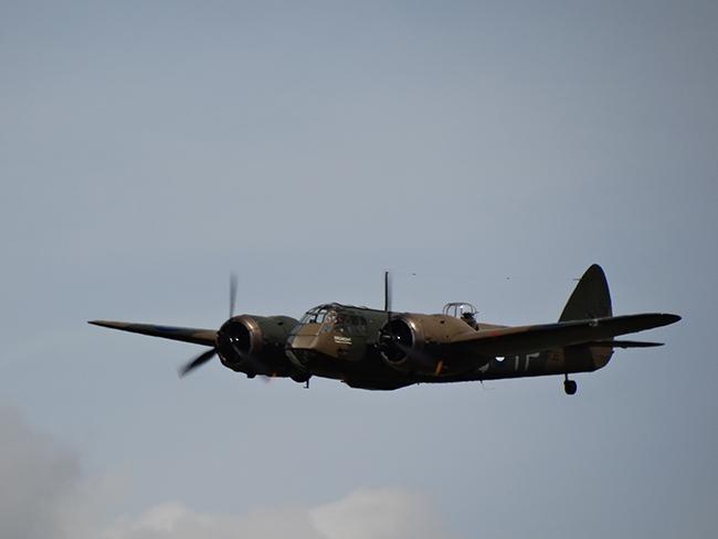Bristol Blenheim: Battle of Britain 75th Anniversary Massed Flypast