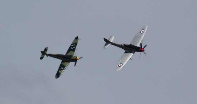 Battle of Britain 75th Anniversary Massed Flypast