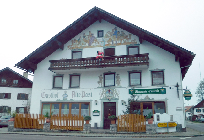 Traditional rural house of Bavaria