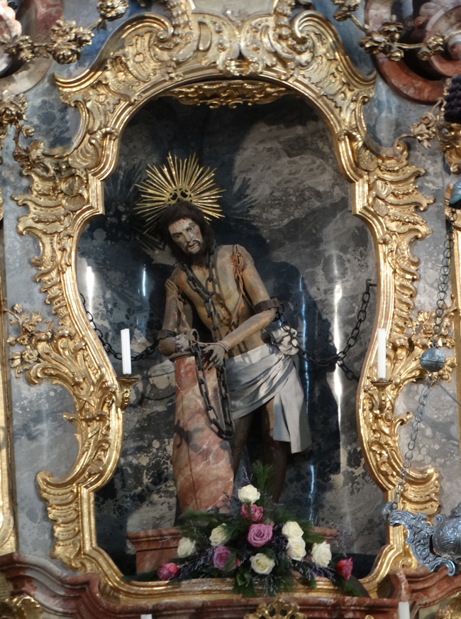 The 'miraculous' Scourged Saviour at the Wieskirche Pilgrimage Church