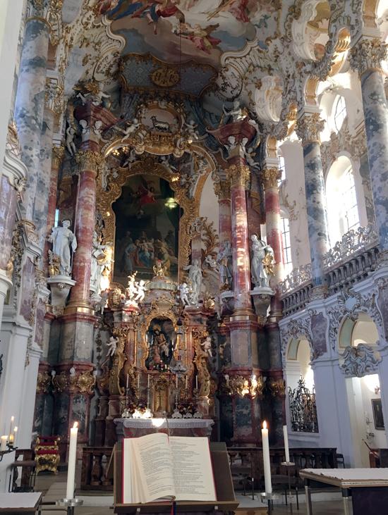 Altar of the Wieskirche