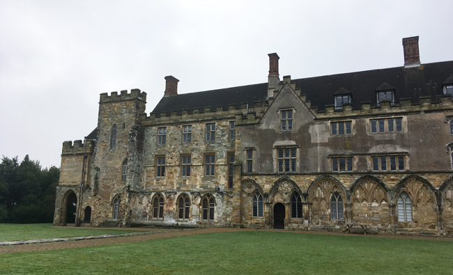 Battle Abbey School occupies the surviving building of Battle Abbey, ever since the end of WWI.