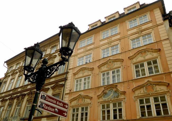 Gorgeous Prague architecture.