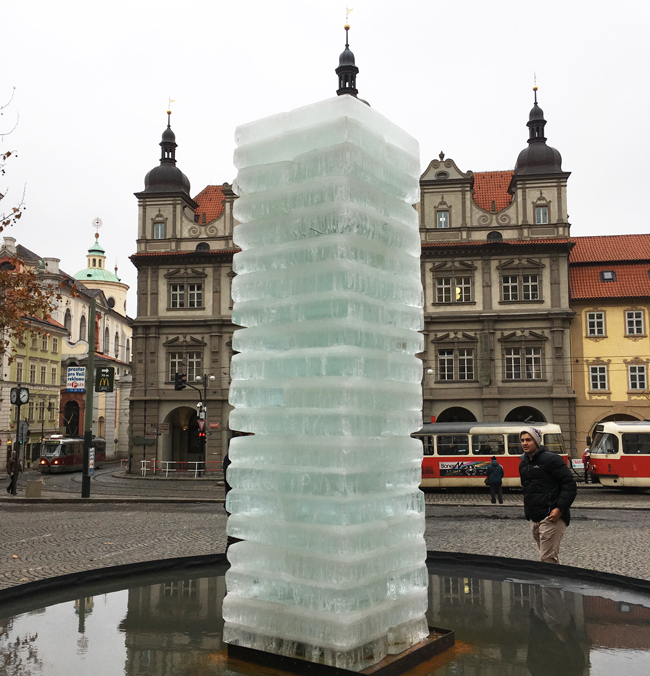 Modern art can be as interesting as watching ice melt. Literally.