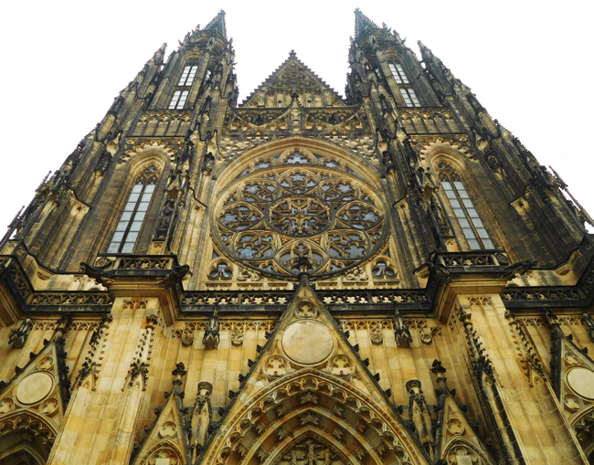 St Vitus Cathedral, Prague Castle.