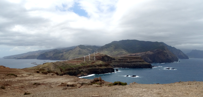 The constant howling wind at Ponta do Furado made the turbines work overtime